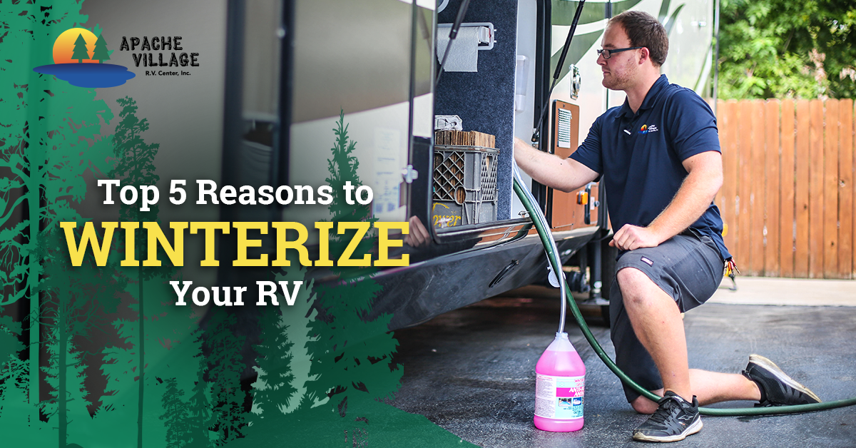 Top 5 Reasons to Winterize Your RV