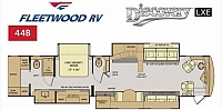 2019 Fleetwood Discovery LXE 44B- Coming Soon!