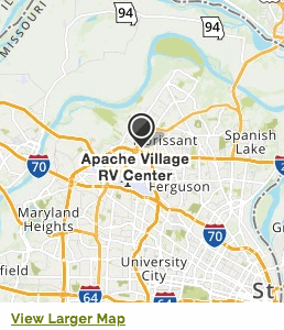 Map to Apache Village RV Center